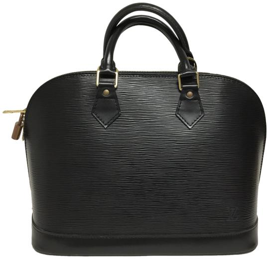 Preload https://img-static.tradesy.com/item/25375392/louis-vuitton-alma-black-leather-satchel-0-2-540-540.jpg