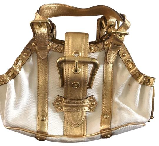 Preload https://img-static.tradesy.com/item/25375425/louis-vuitton-theda-w-white-teflon-coated-fabric-wgold-leather-detailing-and-hardware-interior-linin-0-1-540-540.jpg