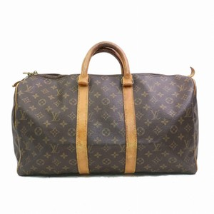 Louis Vuitton Keepall 45 M41428 Lv Boston Lv Brown Travel Bag