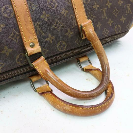 Louis Vuitton Keepall 45 M41428 Lv Boston Lv Brown Travel Bag Image 2