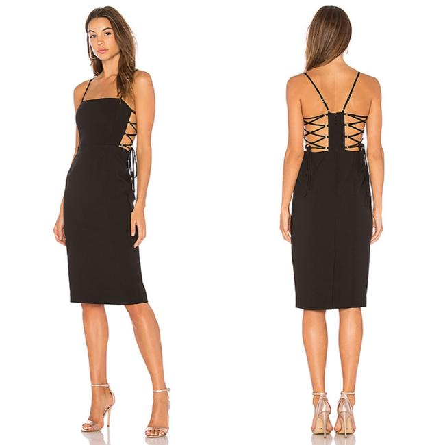 Preload https://img-static.tradesy.com/item/25375857/bcbgmaxazria-black-esmee-mid-length-cocktail-dress-size-2-xs-0-4-650-650.jpg