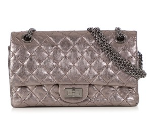 Chanel Ch.q0404.06 Quilted Ruthenium 2007 Reduced Price Shoulder Bag