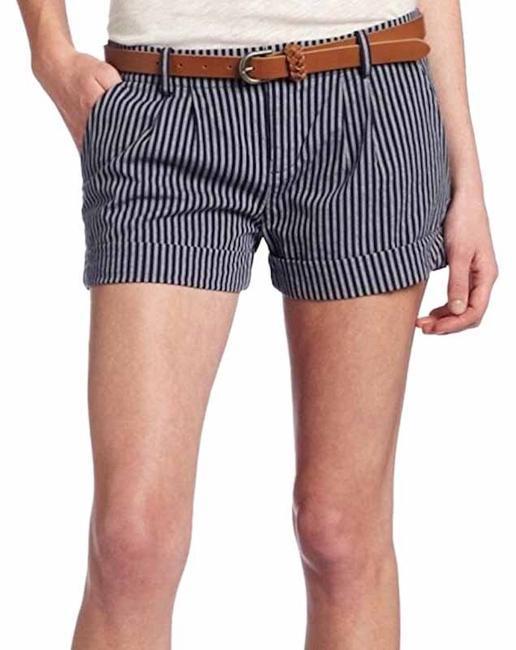 Item - Blue and White Striped Shorts Size 12 (L, 32, 33)