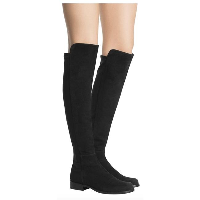 Item - Black 5050 Over The Knee Boots/Booties Size US 5.5 Regular (M, B)