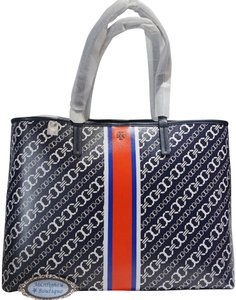 Tory Burch Tote in Navy / Multi-Color