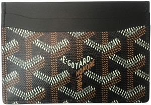 Goyard Classic Multi-Slot Saint Sulpice Card Holder Leather Wallet