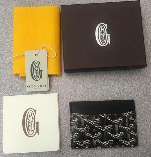 Goyard Classic Multi-Slot Saint Sulpice Card Holder Leather Wallet Image 10