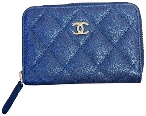 Chanel Classic Zipped Card Holder