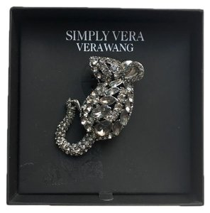 Simply Vera Vera Wang SIMPLY By Vera Wang Crystal Mouse Pin Brooch NEW