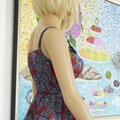 SEWN IN MY ATELIER DRESS SIZE LARGE L/ XL 100% SILK 100% VERSACE short dress Multicolor on Tradesy Image 11