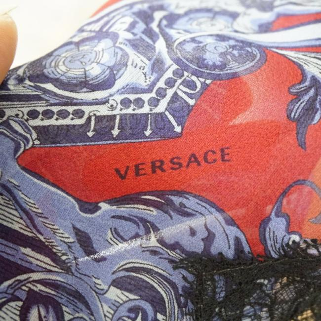 SEWN IN MY ATELIER DRESS SIZE LARGE L/ XL 100% SILK 100% VERSACE short dress Multicolor on Tradesy Image 9