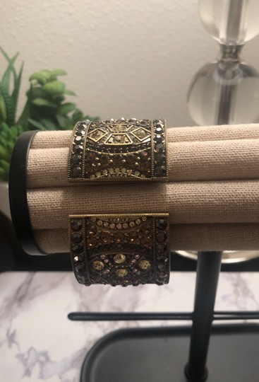 Heidi Daus Jeweled Cuff Watch Image 1