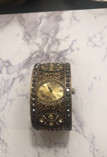 Heidi Daus Jeweled Cuff Watch Image 2