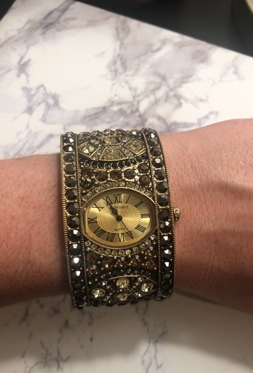 Heidi Daus Jeweled Cuff Watch Image 4
