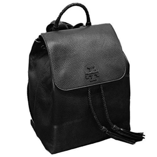 Preload https://item4.tradesy.com/images/tory-burch-taylor-black-leather-backpack-25377078-0-0.jpg?width=440&height=440