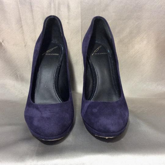 Brian Atwood Purple Pumps Image 1