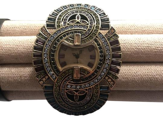 Preload https://img-static.tradesy.com/item/25377141/heidi-daus-gold-wrist-watch-bracelet-0-1-540-540.jpg