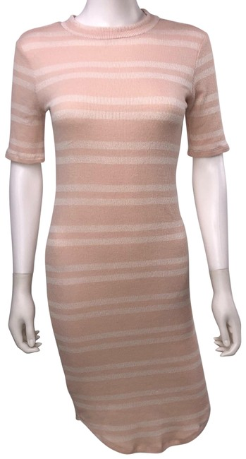 Preload https://img-static.tradesy.com/item/25377179/pink-rose-shift-mid-length-formal-dress-size-8-m-0-1-650-650.jpg