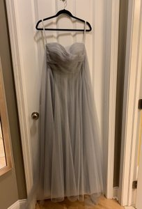 Jenny Yoo Morning Mist Soft Tulle Julia Convertible Gown Formal Bridesmaid/Mob Dress Size 6 (S)