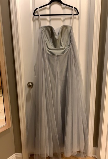 Jenny Yoo Morning Mist Soft Tulle Julia Convertible Gown Formal Bridesmaid/Mob Dress Size 6 (S) Image 1