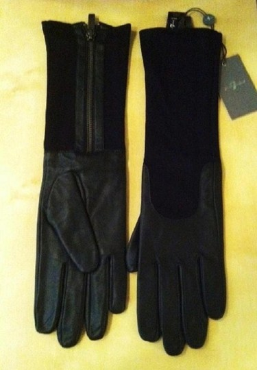 7 For All Mankind 7 FOR ALL MANKIND Long Leather Gloves sz XS/S Image 2