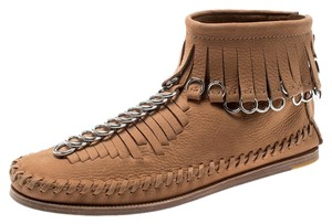 Alexander Wang Leather Suede Brown Boots