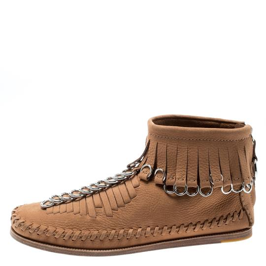 Alexander Wang Leather Suede Brown Boots Image 1