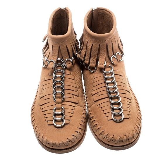 Alexander Wang Leather Suede Brown Boots Image 2