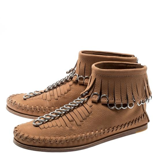 Alexander Wang Leather Suede Brown Boots Image 3