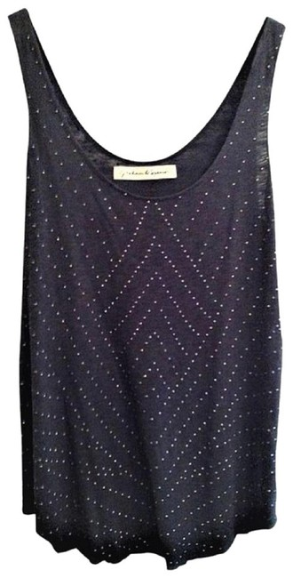 Preload https://img-static.tradesy.com/item/25377308/graham-and-spencer-charcoal-unique-studded-all-over-tank-topcami-size-2-xs-0-0-650-650.jpg