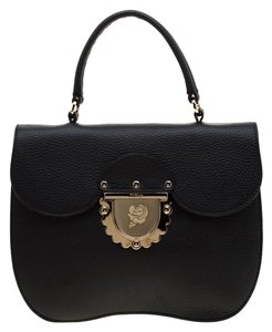 Furla Leather Suede Shoulder Bag