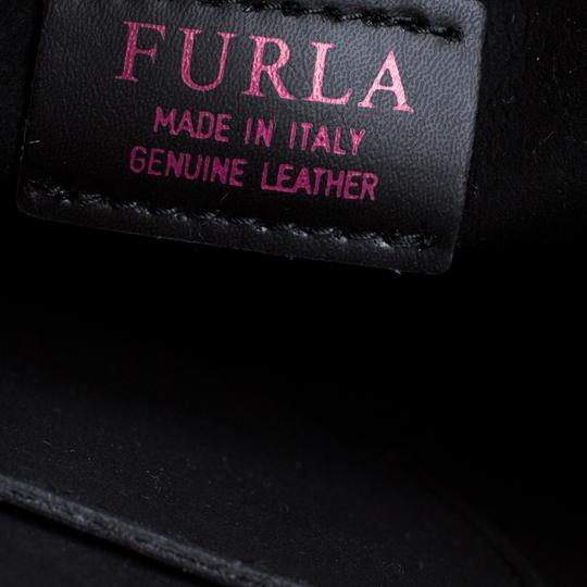Furla Leather Suede Shoulder Bag Image 6
