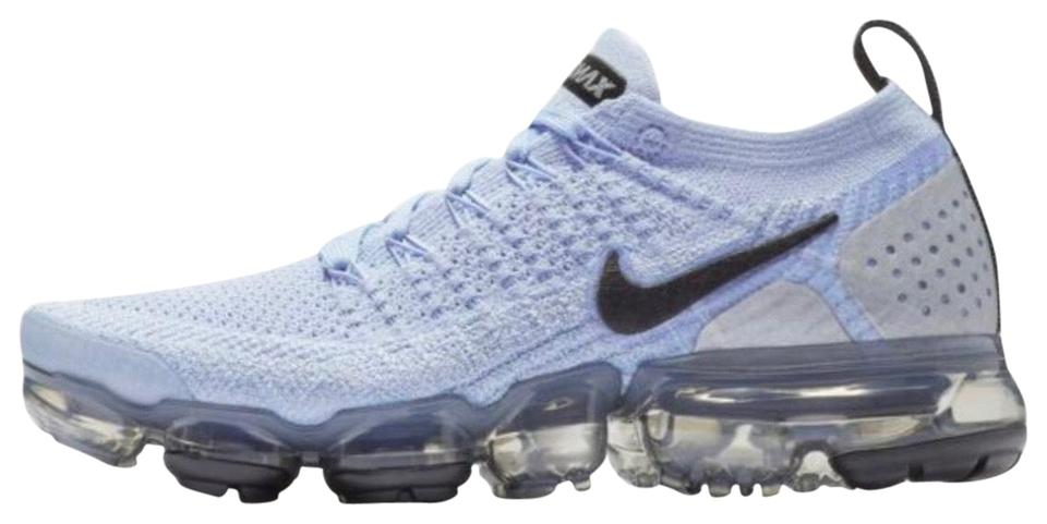 los angeles 64c20 bfd12 Nike Aluminum/Black-metallic Silver Air Vapormax Flyknit 2 Sneakers Size US  7.5 Regular (M, B)