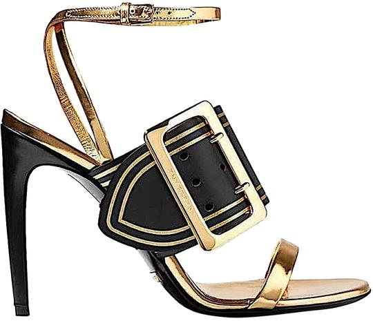 Burberry black/gold with tag Pumps Image 1