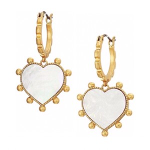 Tory Burch Mother Of Pearl Heart
