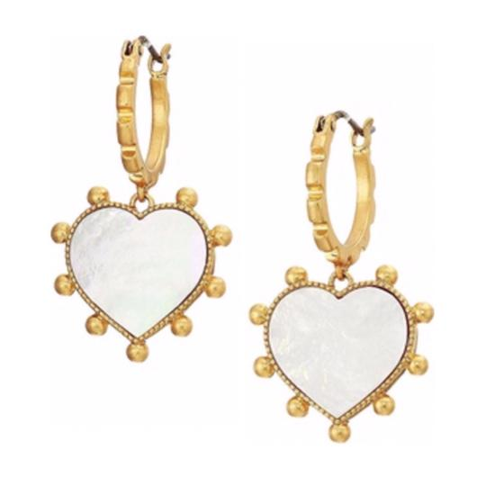 Preload https://img-static.tradesy.com/item/25377450/tory-burch-heart-mother-of-pearl-earrings-0-0-540-540.jpg