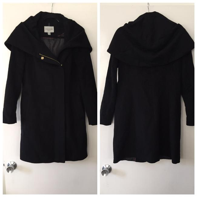 Preload https://img-static.tradesy.com/item/25377527/cole-haan-black-cape-hooded-wool-coat-size-8-m-0-0-650-650.jpg