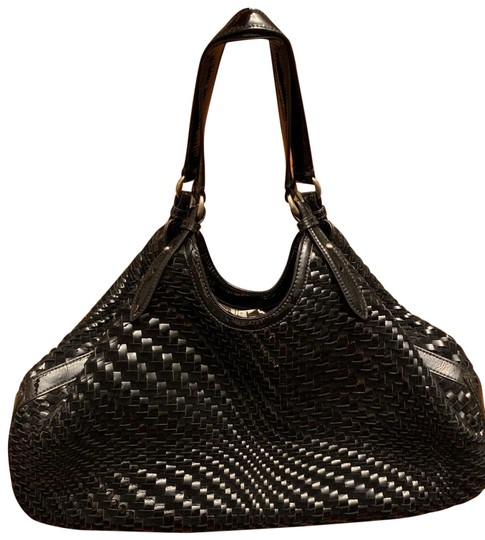 Preload https://img-static.tradesy.com/item/25377578/cole-haan-genevieve-woven-weave-black-leather-hobo-bag-0-1-540-540.jpg