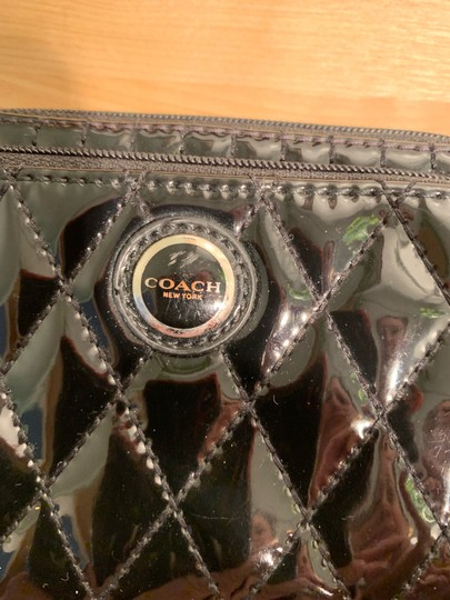 Coach Wristlet in Black & silver hardware Image 2