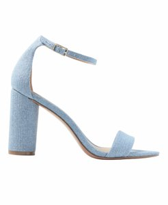 Banana Republic Blue Denim Sandals