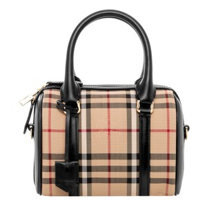 Burberry Satchel in BEIGE + BLACK