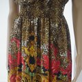 SEWN IN MY ATELIER DRESS 100% SILK 100% FABRIC VERSACE NEW COLECTION short dress Multicolor on Tradesy Image 1