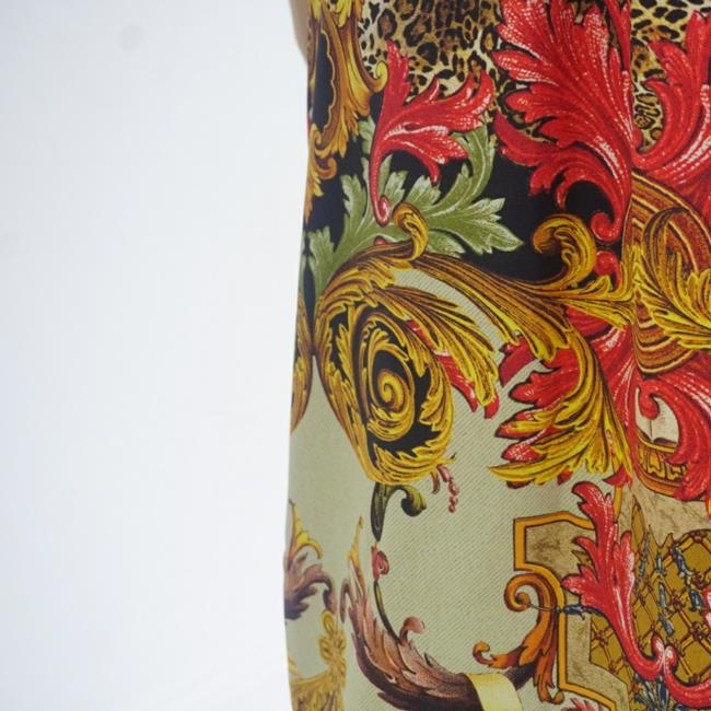 SEWN IN MY ATELIER DRESS 100% SILK 100% FABRIC VERSACE NEW COLECTION short dress Multicolor on Tradesy Image 6