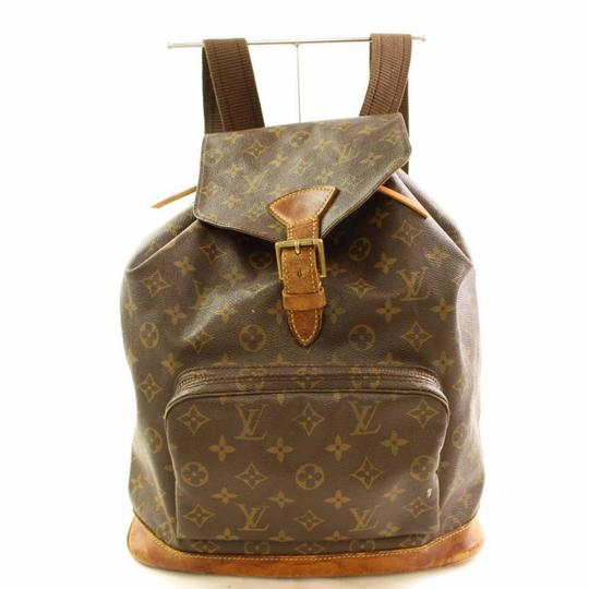 Preload https://img-static.tradesy.com/item/25377923/louis-vuitton-montsouris-gm-866462-brown-monogram-canvas-and-calf-leather-backpack-0-0-540-540.jpg