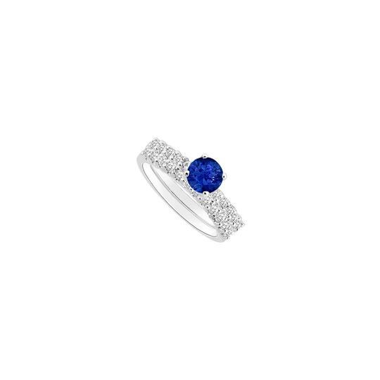Preload https://img-static.tradesy.com/item/25377929/blue-created-sapphire-and-cubic-zirconia-engagement-with-wedding-band-ring-0-0-540-540.jpg