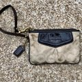 Coach Wristlet in Light/Khaki/Brown Image 1