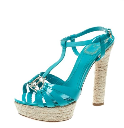 Preload https://img-static.tradesy.com/item/25377992/dior-green-jade-patent-leather-t-strap-espadrille-platform-sandals-size-eu-36-approx-us-6-regular-m-0-0-540-540.jpg