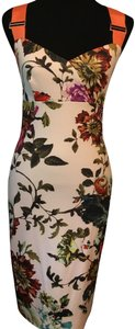 Ted Baker Floral Print Crisscross Strap Bodycon Special Occasion Dress