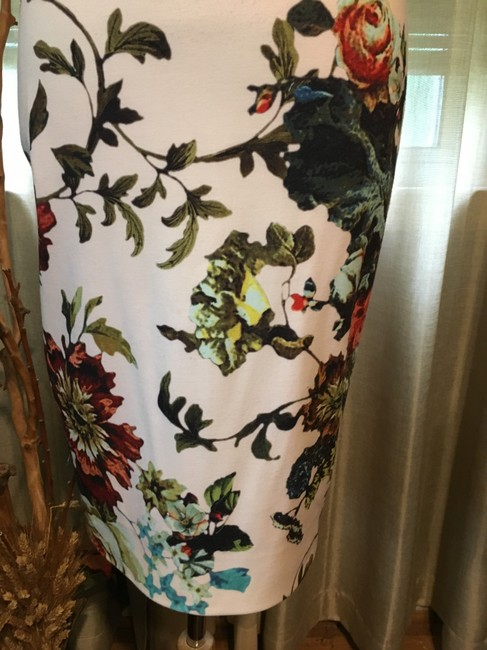 Ted Baker Floral Print Crisscross Strap Bodycon Special Occasion Dress Image 3