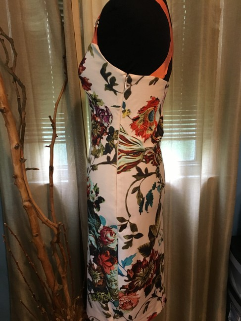 Ted Baker Floral Print Crisscross Strap Bodycon Special Occasion Dress Image 5